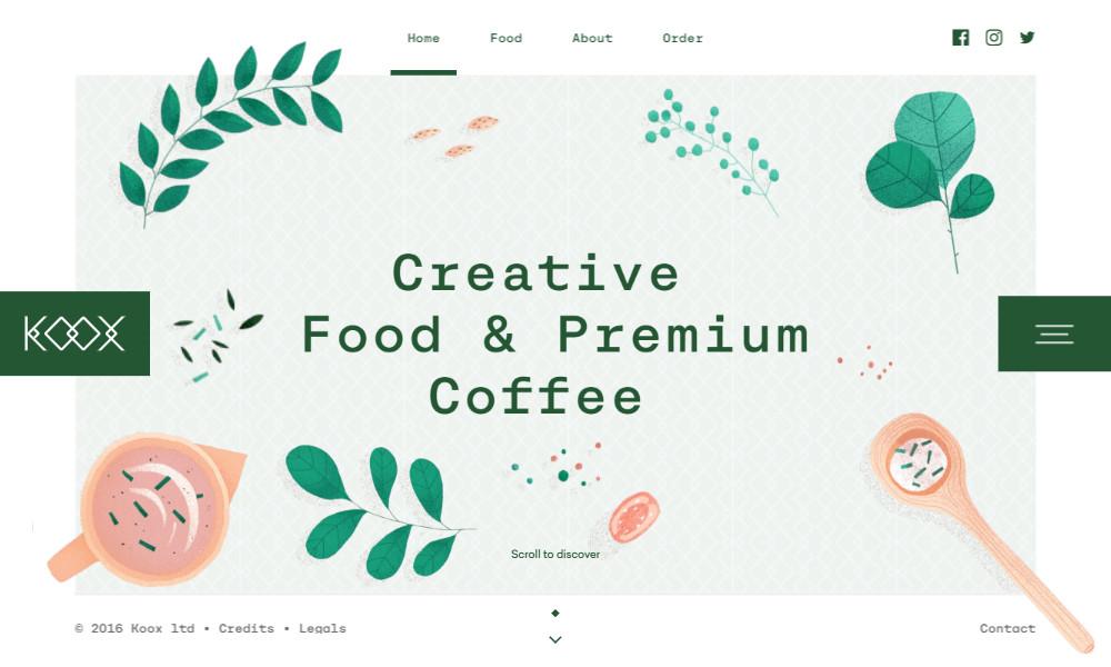 Ilustracje na stronie internetowej