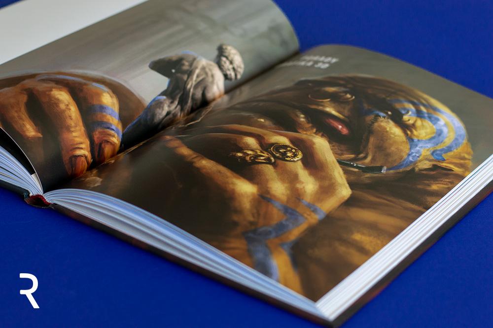 Sen Czarownika. Fabularny podręcznik concept artu