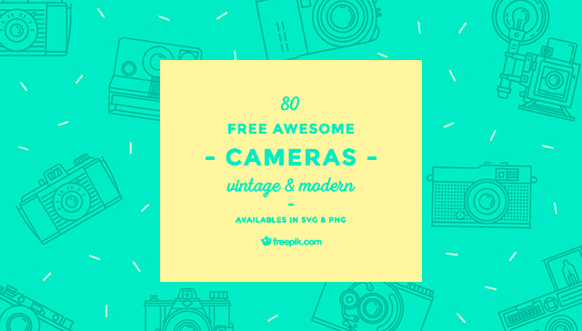80-free-awesome-modern-and-vintage-camera-vector-icons