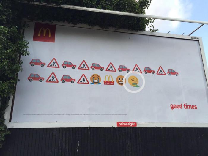 Przerobiona reklama McDonalds