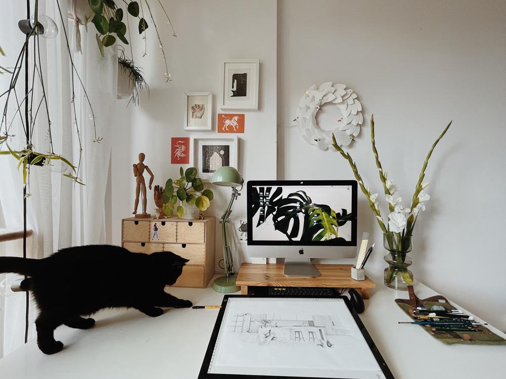 Biurka projektantów - Ewelina Dymek