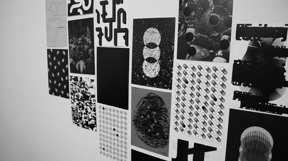 "Graphic design for G. Le Bon's ""Crowd Psychology"" book, Karolina Kaczmarek"