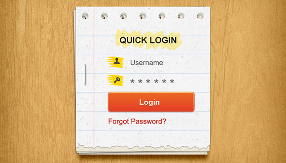stacked-paper-login-form-psd