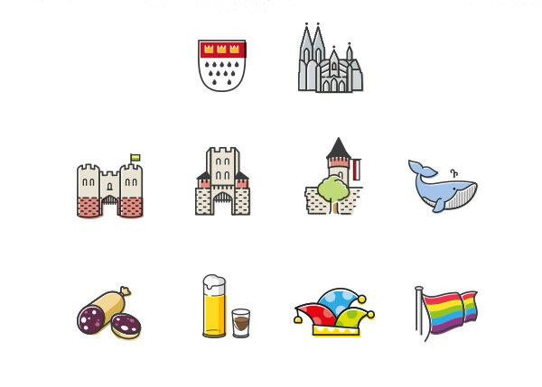 Kölsch-Icons
