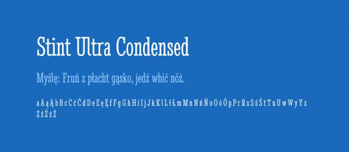 09 Stint Ultra Condensed
