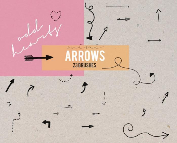 mini-arrows-brushes