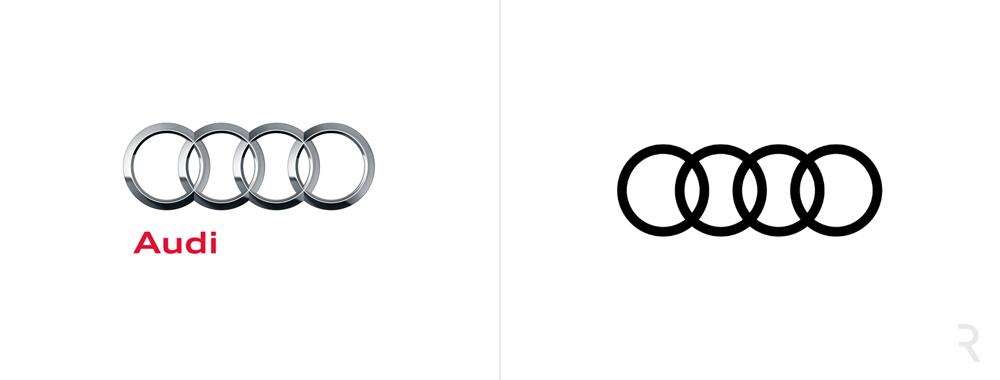 Nowe logo Audi 2017