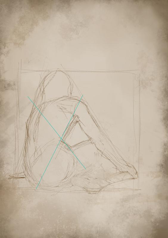Rys. 9. Przestrzeń ręka-tors, poprawa postaci