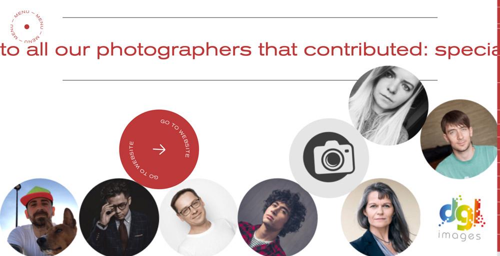 Case Study strony akcji wizerunkowej Depositphotos od Advanced Team