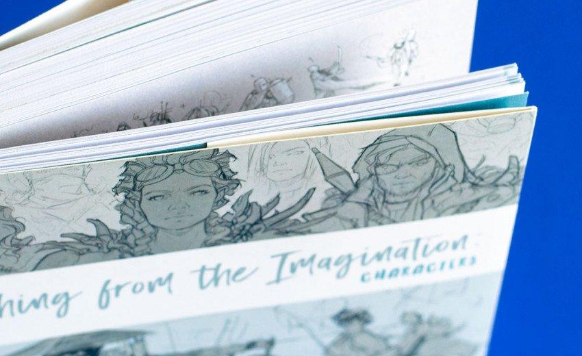 Okładka artykułu Sketching from the Imagination: Characters — W świecie szkiców - recenzja