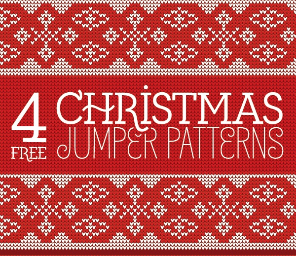 4-Free-Seamless-Knitted-Christmas-Jumper-Patterns