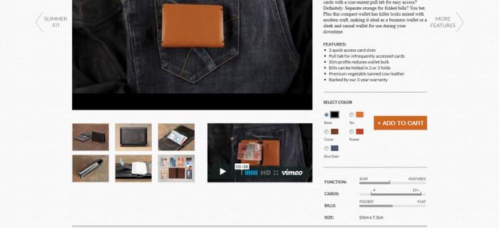 Strona produktu - au.bellroy.com