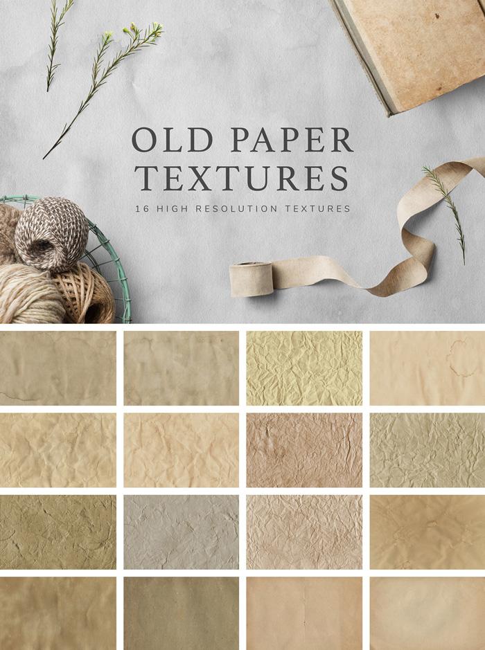 Tekstury starego papieru