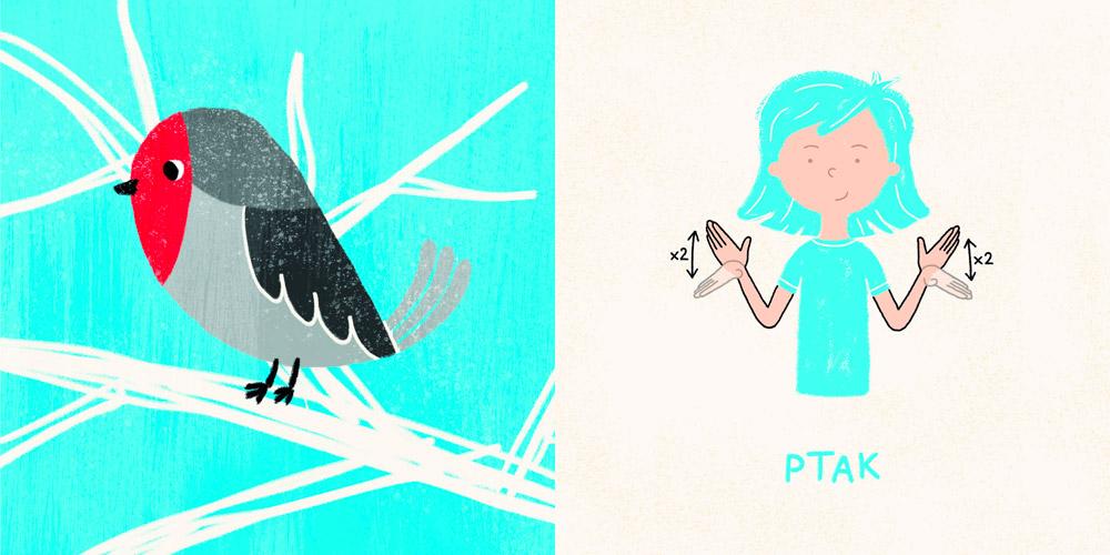 """""""Zamigaj mi!"""" – seria gier i książeczek dla dzieci i rodziców do nauki polskiego języka migowego, Oliwia Michniewska i Paulina Szuścik, Polska"""