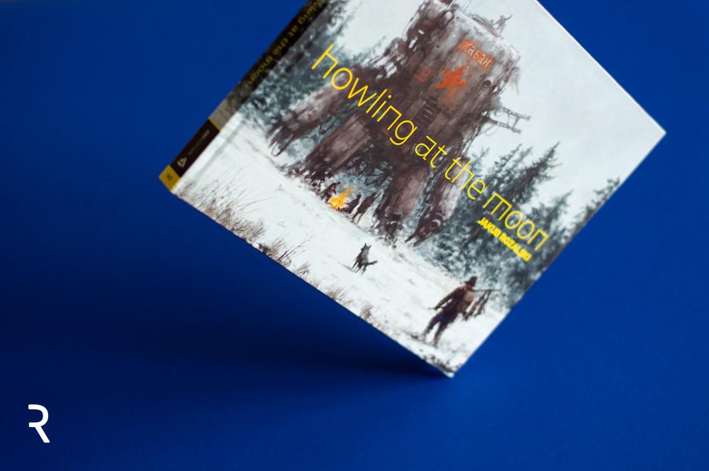 """Howling at the Moon"" Recenzja artbooka Jakuba Różalskiego"