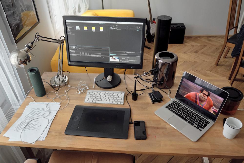 Biurka projektantów - Adam Chyliński