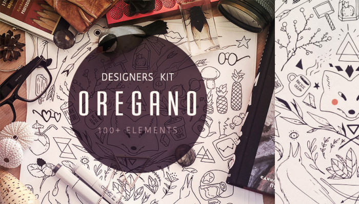 oregano-free-vector-kit