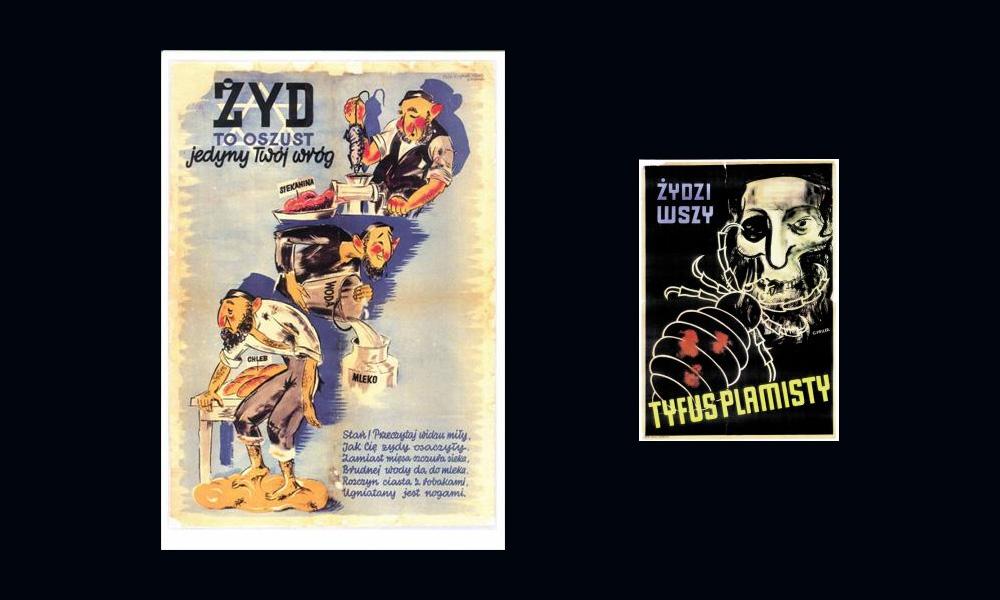 Plakaty antysemickie