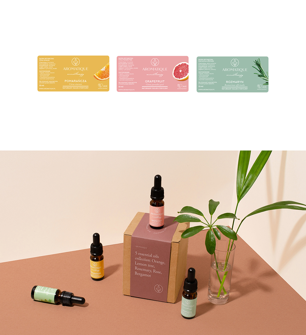 Aromatique - essential oils branding, WE ARE OWLSOME