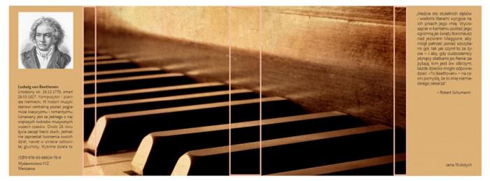rys.7.Ułożenie treści na obu skrzydełkach obwoluty lub okładki z nadrukowanym obrazem