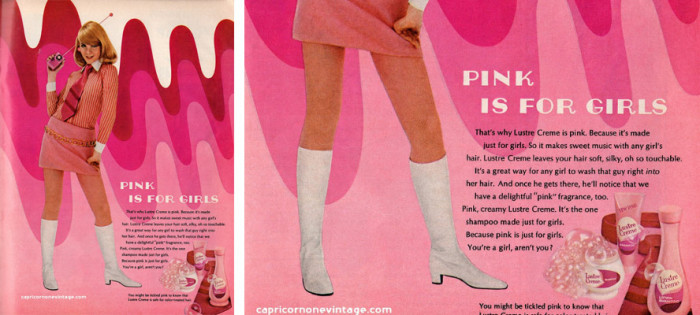 Reklama szamponu z 1968 roku, CapricornOneVintage