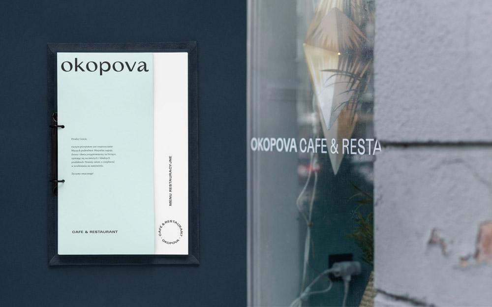 Okopova Cafe&Restaurant,Motyw Studio