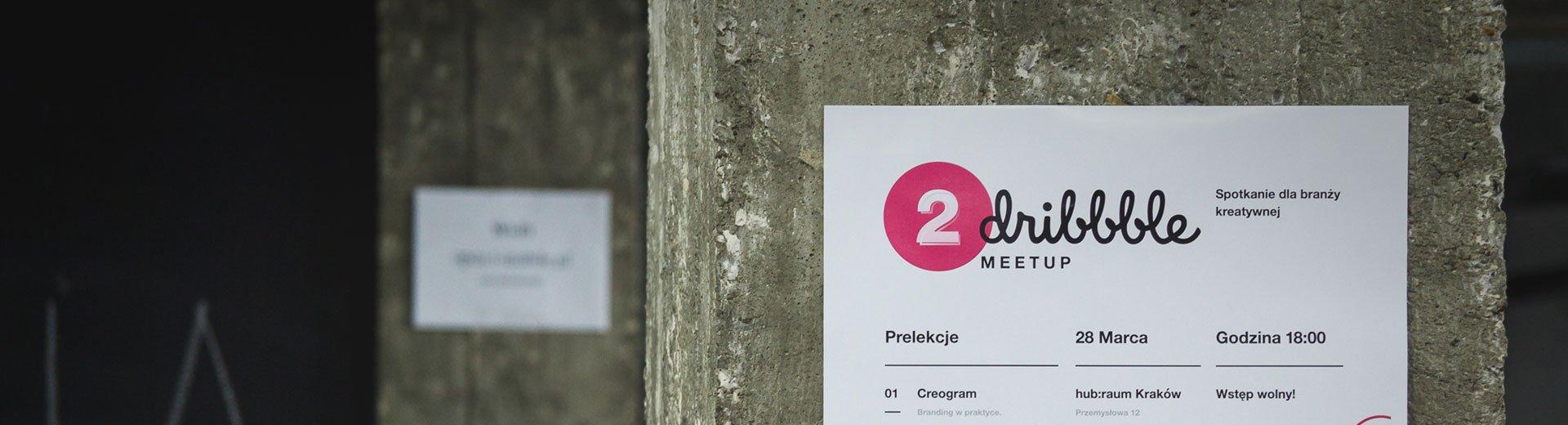 Okładka artykułu Drugi Dribbble Meetup — Kraków, 28 marca