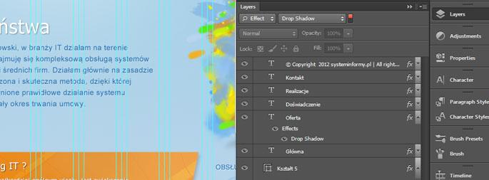 01 Photoshop CS6 Filtrowanie warstw
