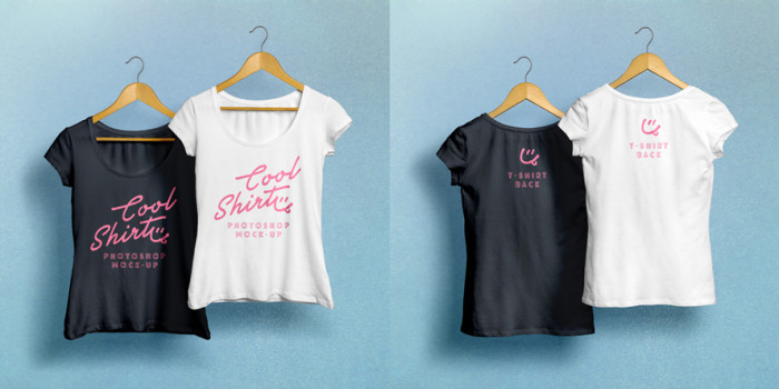 Woman-T-Shirt-MockUp-PSD