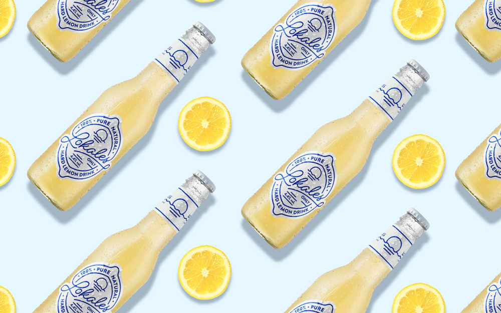 "Lange & Lange ""Lokales. Hard Lemon Drink"""