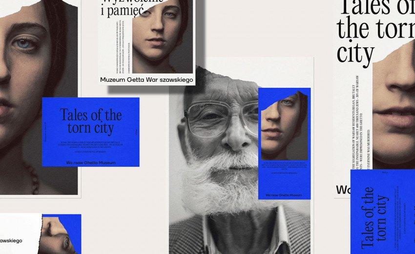 Okładka artykułu Rozdarcie w identyfikacji — Case Study konkursowego brandingu Muzeum Getta Warszawskiego od Redkroft