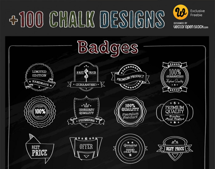 free-download-chalk-vector-elements