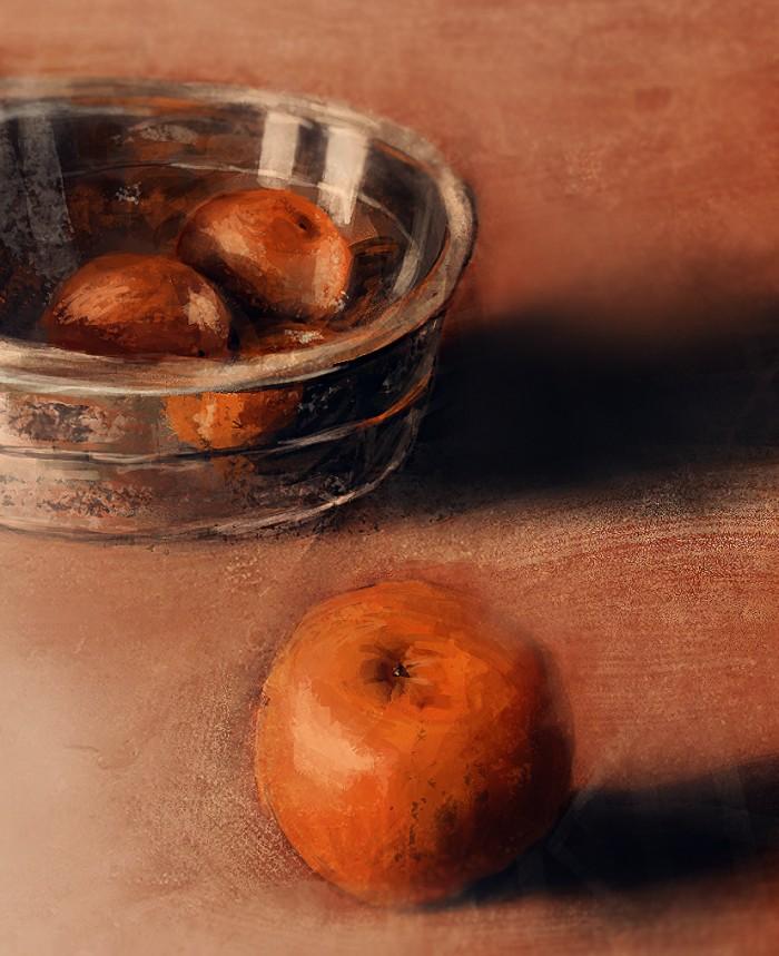 12 Martwa natura, czyli jak malowac pomarancze