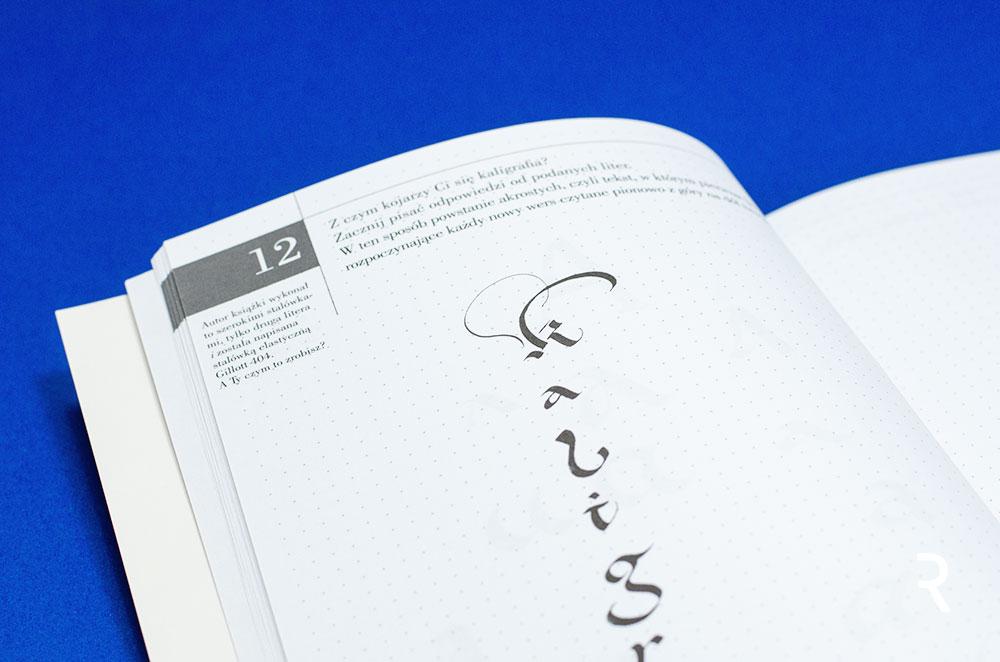 Recenzja książki Kaligrafia Grzegorza Barasińskiego