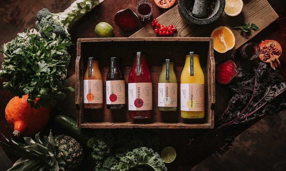 Raw Nest cold pressed juices, Łobzowska Studio