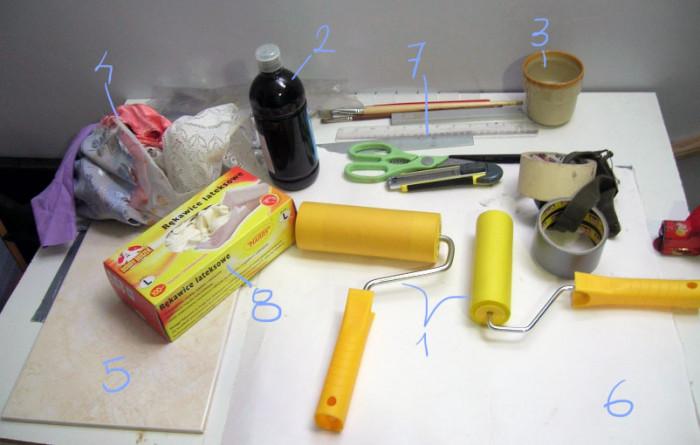 01 Analogowy warsztat Tworzenie wlasnych materialow graficznych