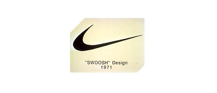 Logo Nike z 1971 roku