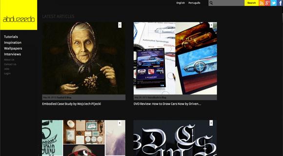 Aktualny design abduzeedo.com