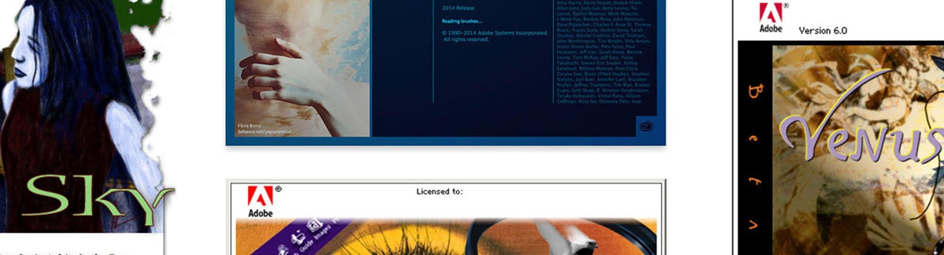 Okładka artykułu Ewolucja ekranów ładowania Photoshopa — Inspirujący powrót do przeszłości