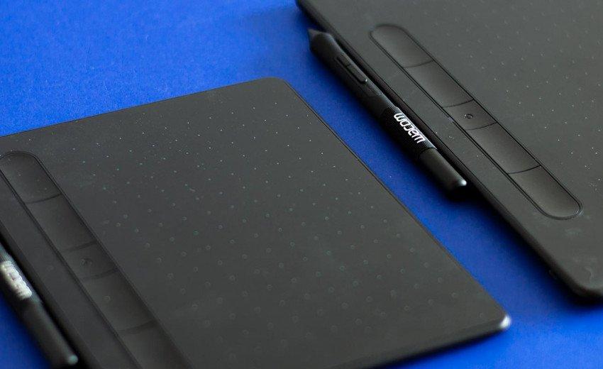 Okładka artykułu Profesjonalne narzędzie czy tablet dla amatora? — Recenzja tabletów piórkowych Wacom Intuos