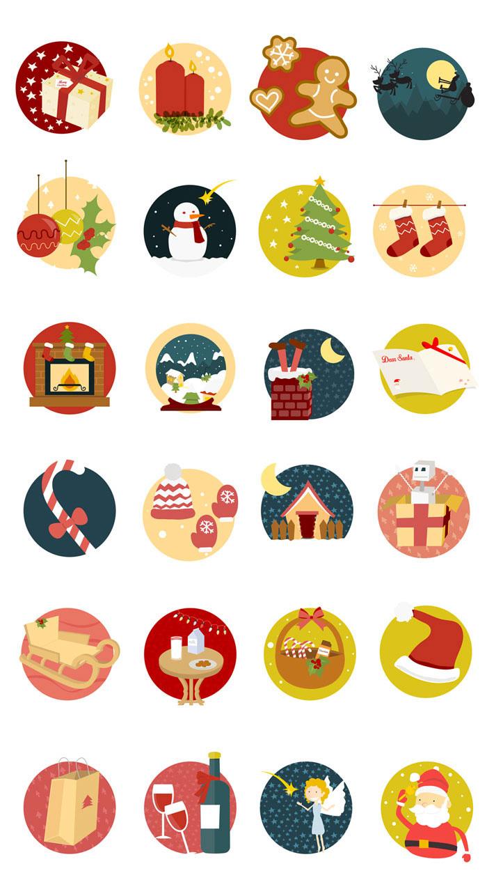 Christmas-Icon-Set-(24,-Icons,-AI,-PSD,-EPS,-PDF,-SVG,-PNG)
