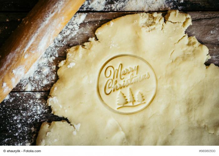 Making merry christmas cookies