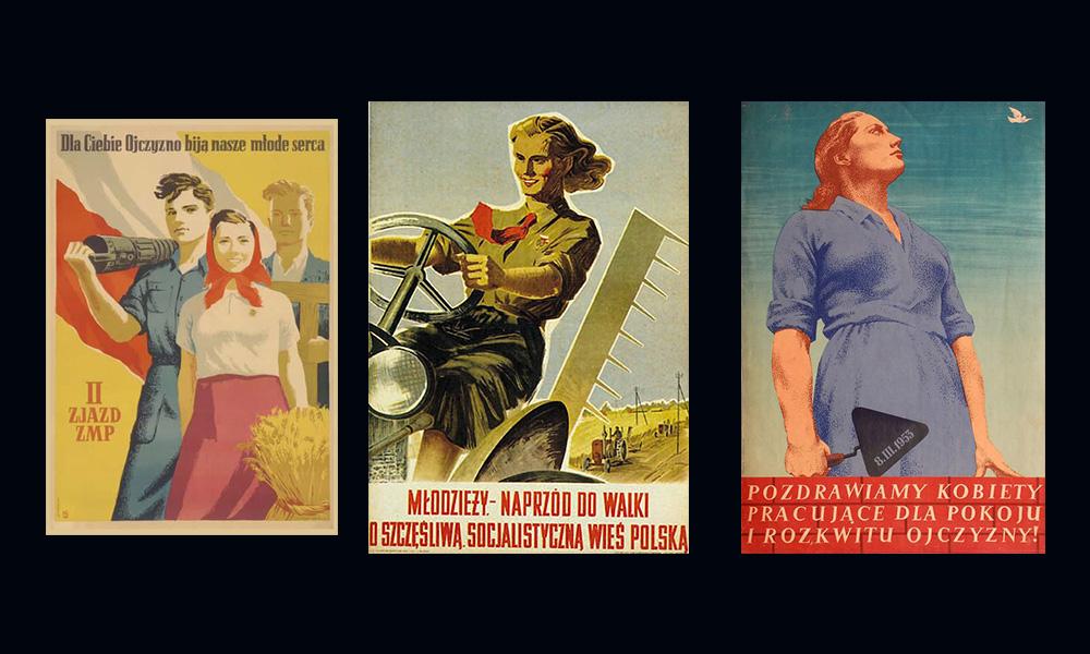 Kobiety na plakatach komunistycznych
