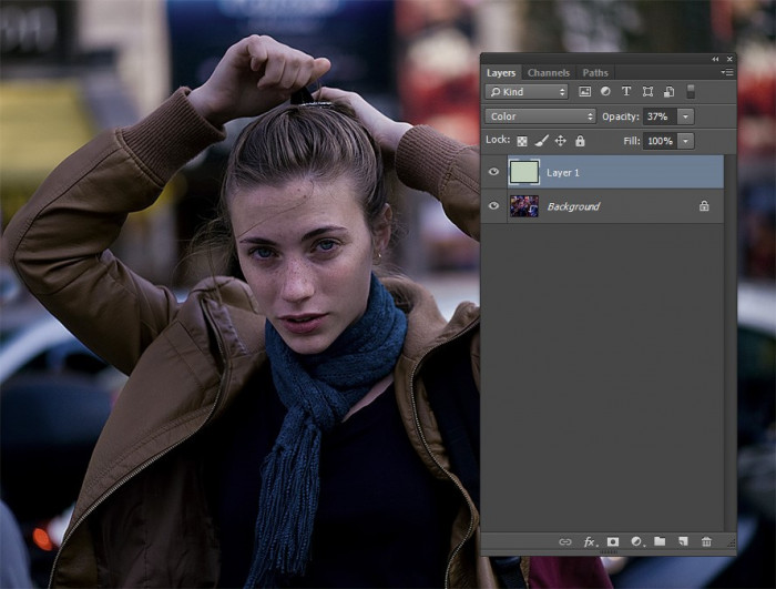efekt normalizowania kolorow na zdjeciu za pomoca photoshopa