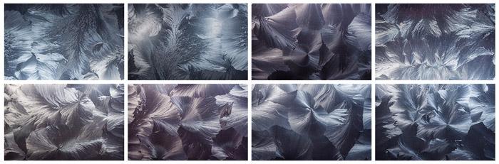 Mroźne tekstury - freebies, darmowe materiały