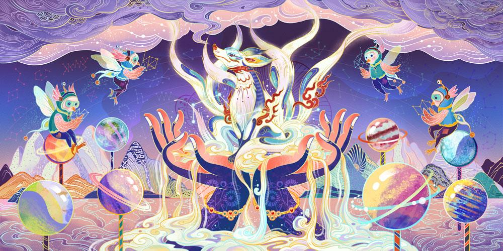 Tang Yi - doświadczony ilustrator, który pracował m.in. z Visual China Group