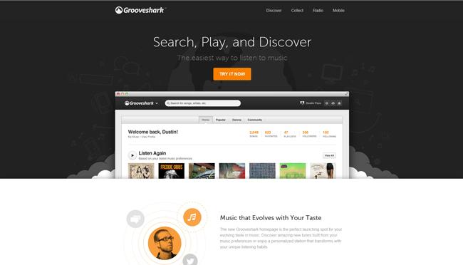 11 Grooveshark