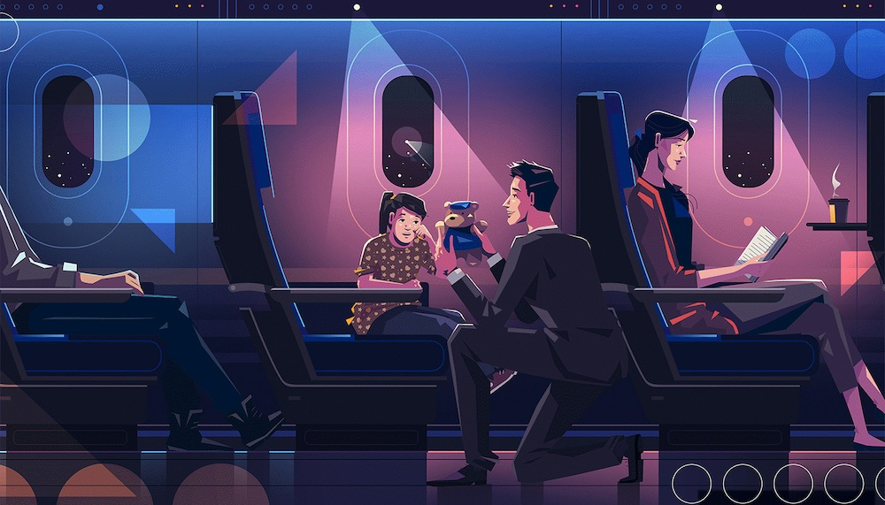 The New York Times + Singapore Airlines, BluBlu Studios