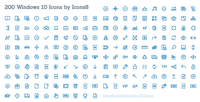200-Windows-10-Icons
