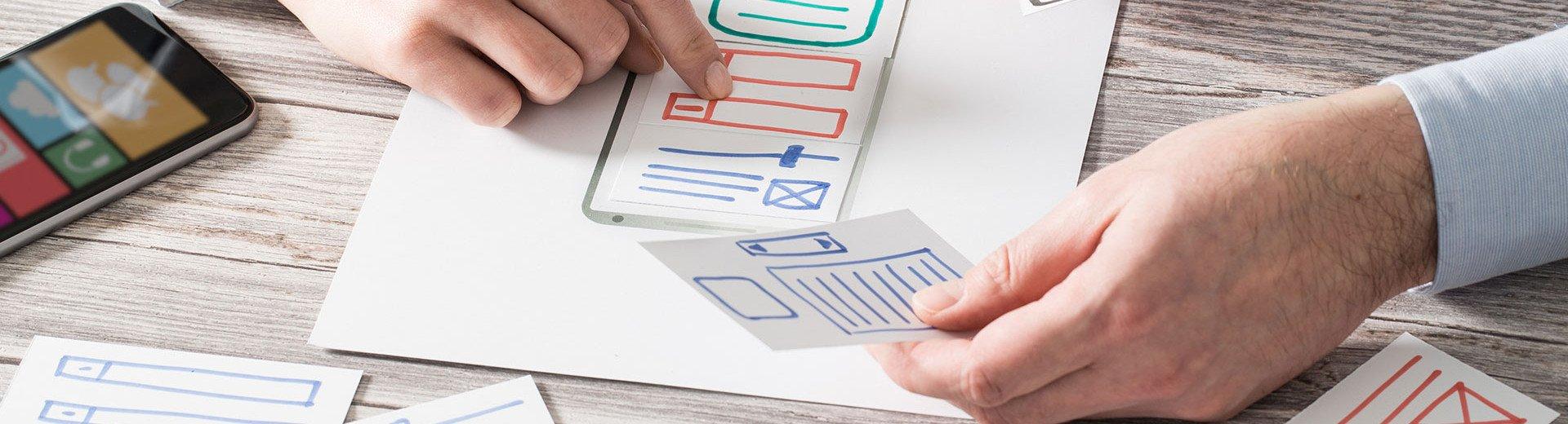 Okładka artykułu Tworzenie makiet stron internetowych — Praktyczne porady